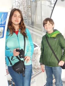 Kids on the London Eye.