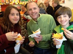 The Belgian fries!